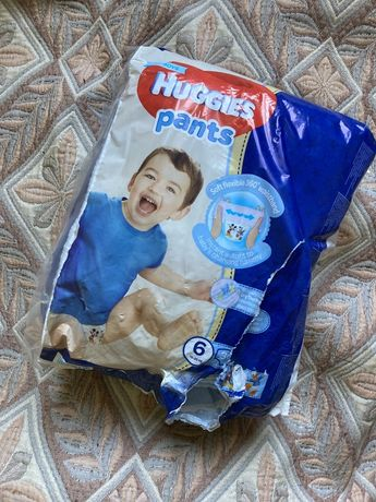 Підгузки-трусики Huggies Pants 6