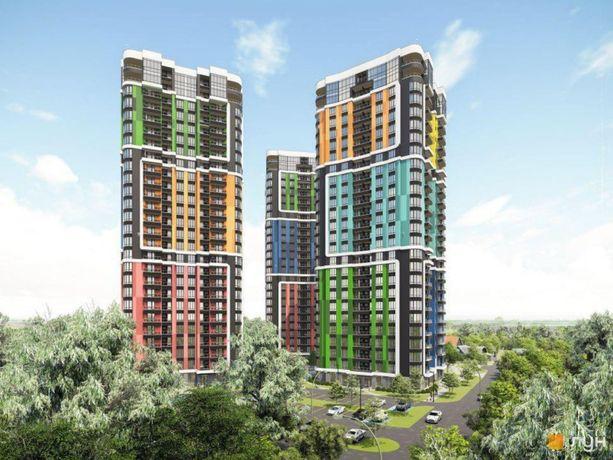 Продаются три 1-к квартиры 37 м2 в новом ЖК Абрикосовый