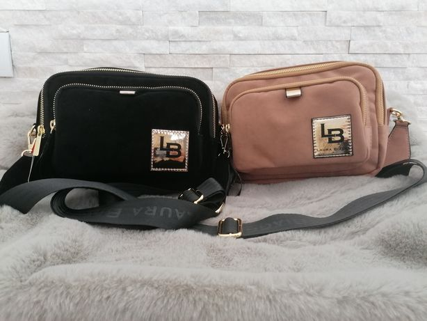 Ekozamszowe kuferki Laura Biaggi!