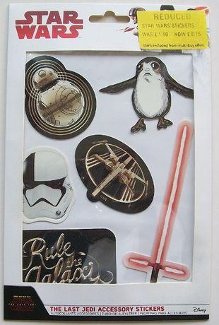 Naklejki Star Wars The Last Jedi