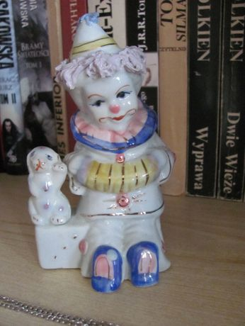 Porcelanowy pajacyk