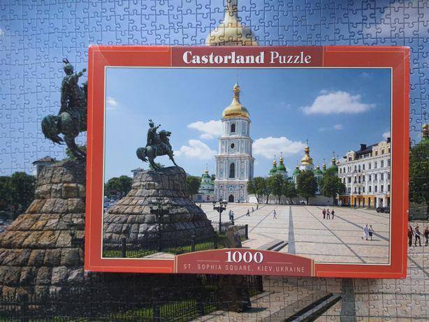 Пазл 1000 Castorland Киев Софиевская площадь игра для детей подарок
