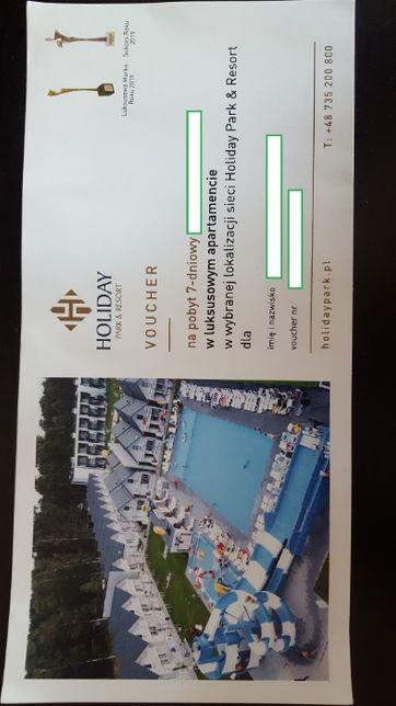 Voucher Holiday Park&Resort taniej o 800 zł.!! Ważny 3 lata!