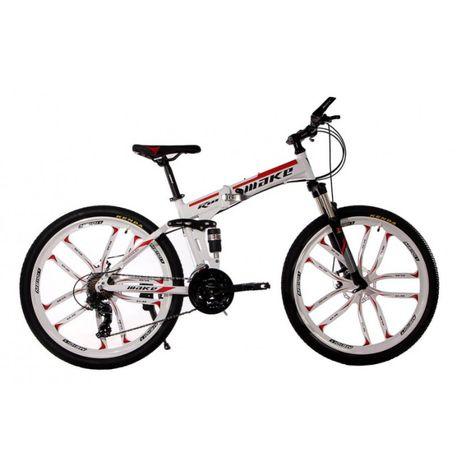 """Складаний алюмінієвий велосипед МАКЕ на литих дисках 26"""" рама 17"""""""