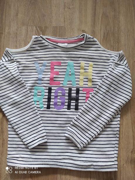 Bawełniana Bluza Dziewczęca na ok. 10 lat