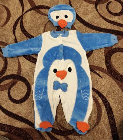 Нарядный человечек+шапочка Пингвин