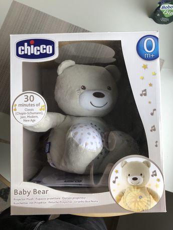 Chicco Baby Bear pluszowu grajacy miś