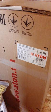 Атон  газовый конвектор новый