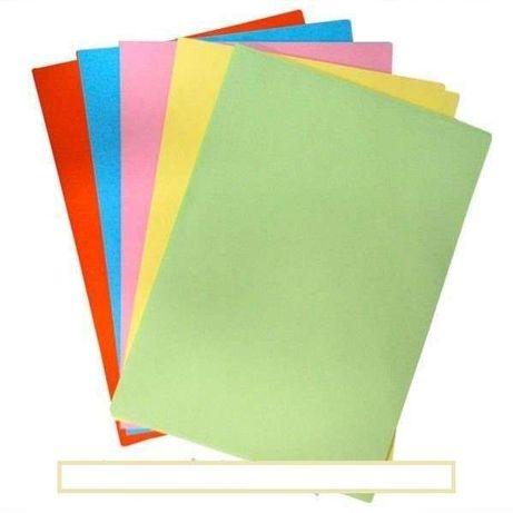 Бумага для ксерокса 100 листов, 5 цветов, 80г/м²
