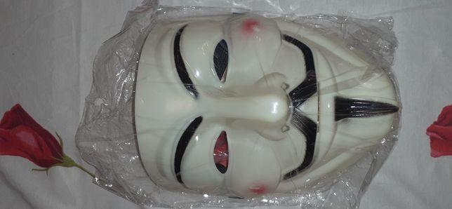 Маска для маскарадного костюма Вендетта Гая Фокса