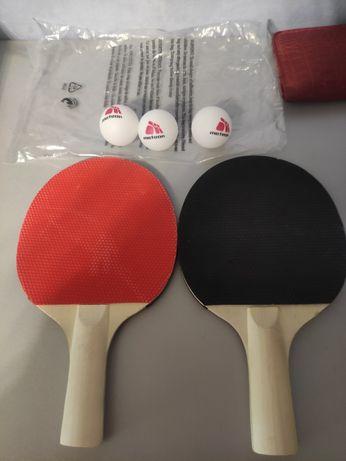 Набор ракетки+шарики для настольного тенниса