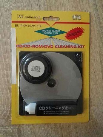 Zestaw czyszczący do płyt CD/CD ROM/DVD