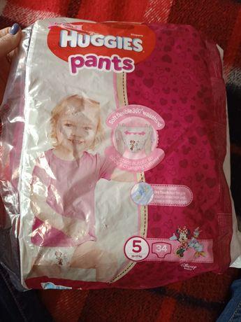 HUGGIES PANTS для девочек 5 (12 - 17 кг)