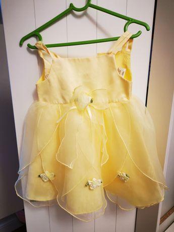 Piękna sukienka z bolerkiem 86 ślub wesele komunia chrzest
