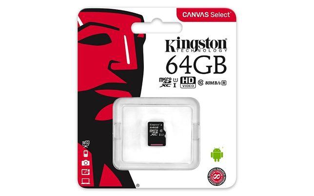 Cartão memória mico SD 64GB com oferta de adaptador