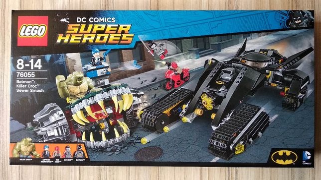 Lego DC 76055 Killer Crock