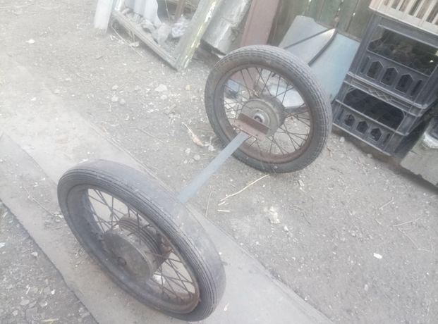 Продам колеса и ось ,для тачки.