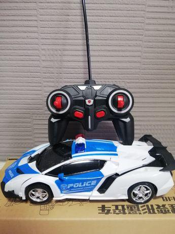 Машинка-Трансформер на радиоуправлении Police
