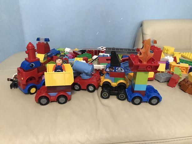 Продам Lego duplo машинки и грузовики, пожарная станция дэпо, маквин