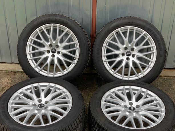 Alufelgi 20 cali Audi SQ7, Q7, Q5 i opony zimowe Goodyear