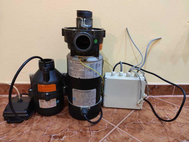 Pompa wody do hydromasażu DXD-2 wraz z osprzętem