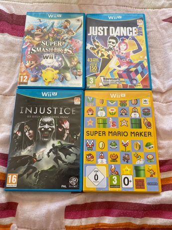 Lote de jogos de Wii u