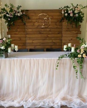 Деревянная эко ширма, рустик на свадьбу