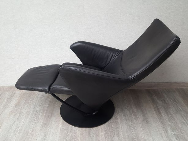 fotel vintage klasyczny skóra skórzany rozkładany relaks relax1