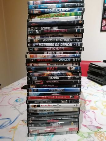 BAIXA DE PREÇO. 35 DVD (filmes), terror, acção, imedia, romance, etc.