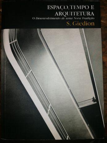 Livro Espaço Tempo e Arquitetura