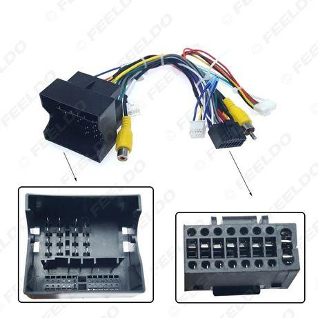 Moduł Can Bus dekoder kable , sterowanie z kierownicy VW,Golf,Skoda