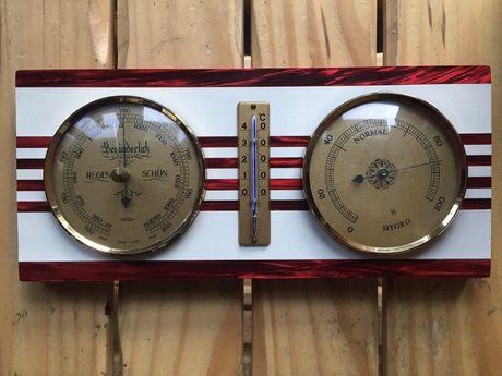 Antyk GDR Termometr Barometr Niemcy