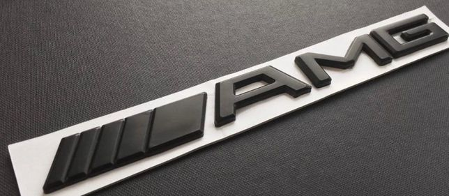 Mercedes AMG letras simbolo 3D novos