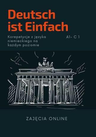 40 zł/h Niemiecki - korepetycje