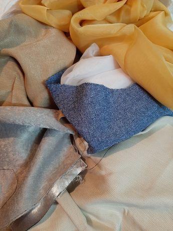 Обрезки тюля и шторы для рукоделия
