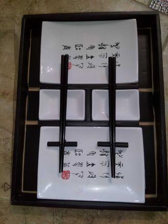 Посуда для суши на две персоны