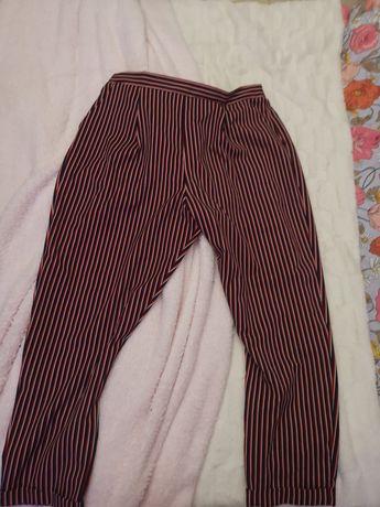 Nowe spodnie w paseczki na gumce tu