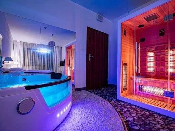 Kołobrzeg  apartament SPA przy plaży , prywatne jacuzzi i sauna