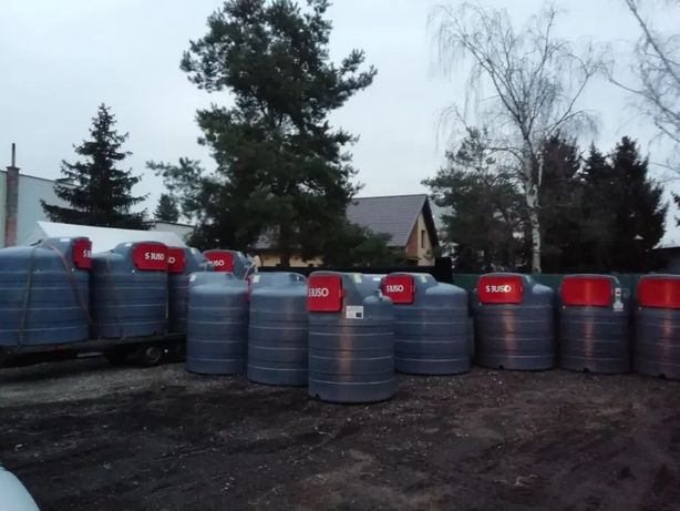 zbiornik na ropę stacja paliw 2500 dwupłaszczowy