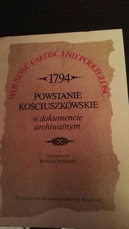 Powstanie kościuszkowskie w dokumencie archiwalnym