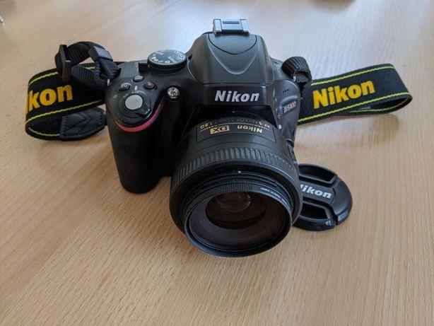 Lustrzanka, apart cyfrowy Nikon 5100