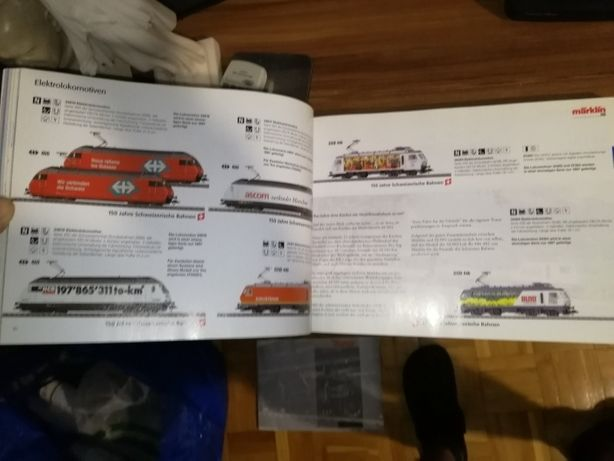 Katalog Merklin Roco wagonów lokomotyw