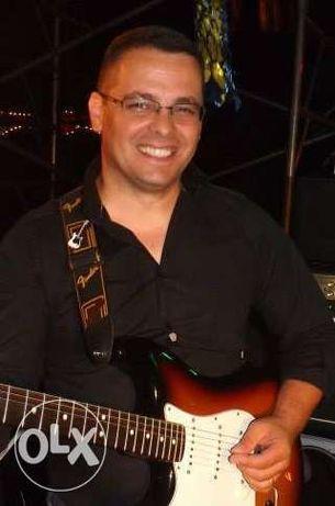 Aulas de Guitarra ao Domicílio ou Escola de Música