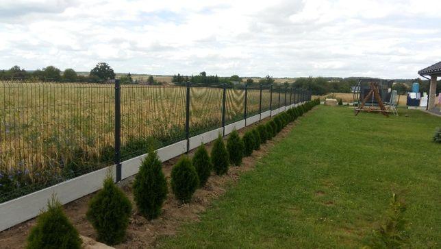 ogrodzenia panelowe palisadowe wraz z materiałami montaże