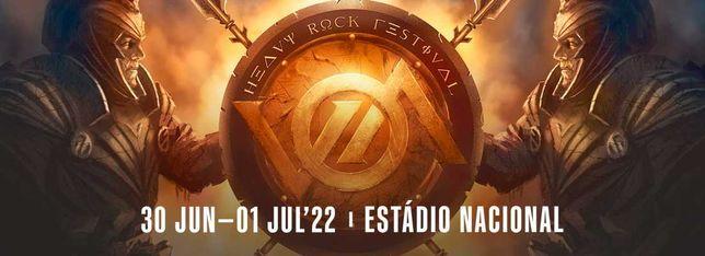 2 Bilhetes VOA Heavy Rock Festival 2022