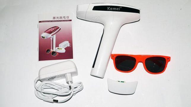 KEMEI km-6812 Фотоэпилятор, для лица и тела / универсальный, для всех