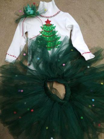 Новорічний костюм ялинка,білочка,цукерка