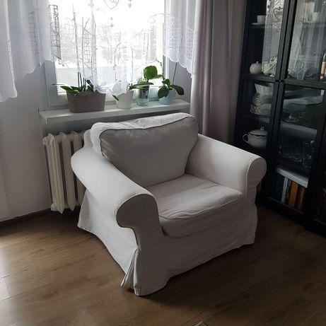 Fotel Ikea biały