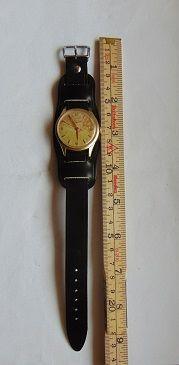 Zegarek Longines,złoty.