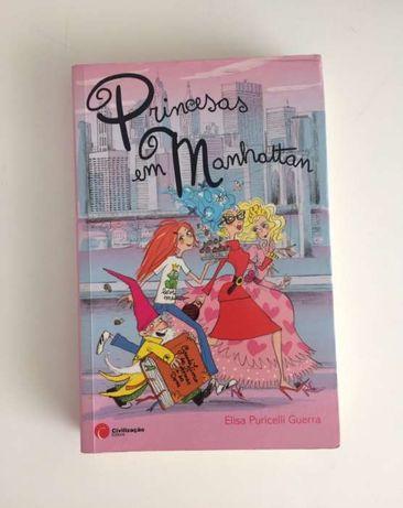 """Livro """"Princesas em Manhattan"""" de Elisa Puricelli Guerra"""